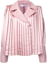 Donnah Mabel - pleated trim jacket - women - Polyester - 0