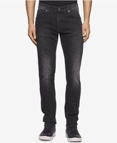 Calvin Klein Jeans Men's Sculpted Metal Black Jeans