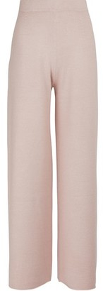 Mansur Gavriel Alpaca and silk trousers