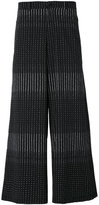 Damir Doma printed wide leg trousers - men - Cotton - M