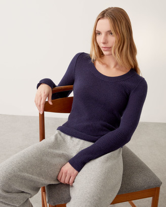 Jigsaw Merino Cashmere Scoop Jumper