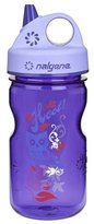 Nalgene Grip-N-Gulp Water Bottle, 12oz - Purple Hoot