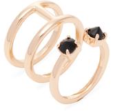 Rebecca Minkoff Stone Puzzle Ring
