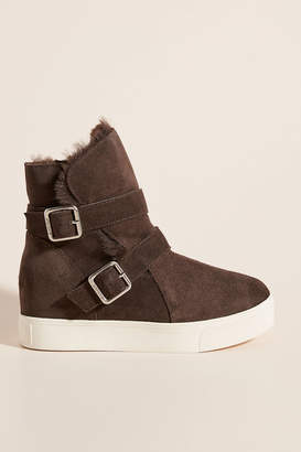 J/Slides Wells Wedge Boots