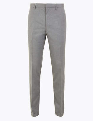 Marks and Spencer Big & Tall Slim Fit Trousers with Stretch