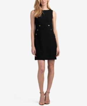 Trina Turk Heart Felt Button Detail Dress