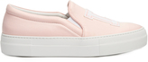 Joshua Sanders LA satin slip-on trainers