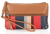 The Sak Sanibel Striped Charging Wristlet