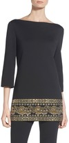 St. John Sequin Milano Knit Tunic