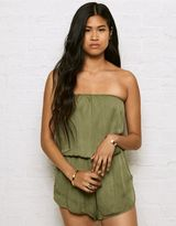American Eagle Outfitters Don't Ask Why Strapless Romper