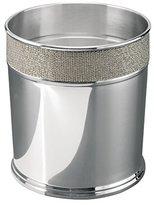 mDesign Stainless Steel Wastebasket Trash Can - Metallico