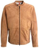 Strellson Beacon Leather Jacket Camel