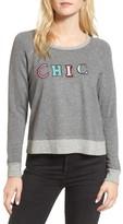 Sundry Women's Chic Crop Sweatshirt