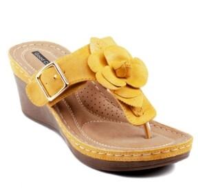 GC Shoes Flora Wedge Sandal Women's Shoes