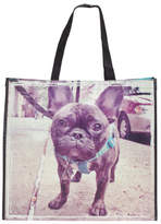 Frenchie Dog Walk Reusable Bag