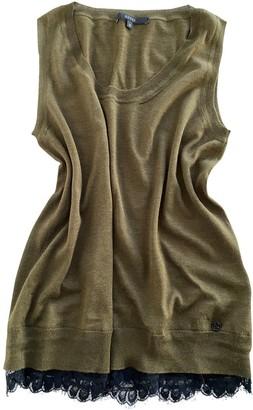 Gucci Khaki Cashmere Knitwear for Women