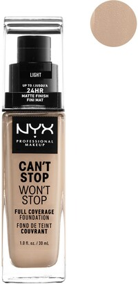 NYX Can't Stop Won't Stop 24-Hour Foundation - Light