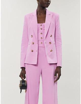 Pinko Sinbad linen-blend blazer