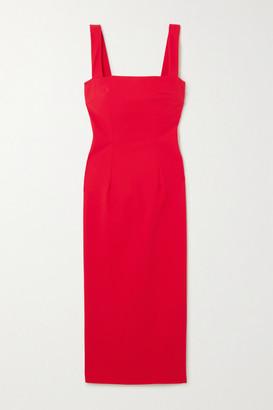 MARCIA Tarot Stretch-jersey Midi Dress - Red