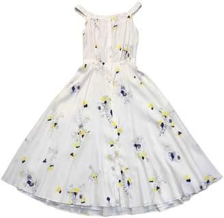 Cacharel White Silk Dress for Women