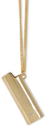 Ambush Gold-tone Lighter Case necklace