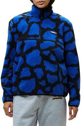 Obey Odyssey Abstract-Print Sweater