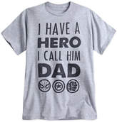 Disney Avengers ''Dad'' Tee for Men