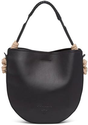 Prada Raffia Details Shoulder Bag