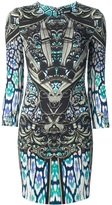 Just Cavalli short mandala print dress