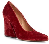 Dries Van Noten Women's Block Heel Pump