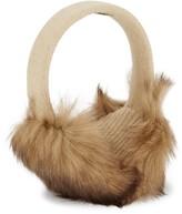 Portolano Textured Shearling Earmuffs