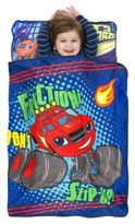Nickelodeon Blaze and the Monster Machines Nap Mat in Red/Blue