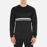 Wood Wood Men's Troy Long Sleeve Sweatshirt Black