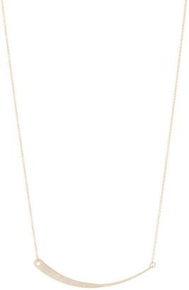 Panacea Curved Bar Necklace