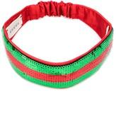 Gucci Kids sequin Web headband