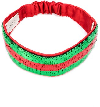 Gucci Kids sequin Web headband