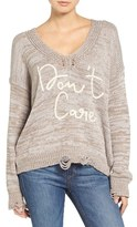 Wildfox Couture Don't Care Sweater