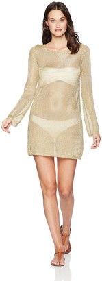 MinkPink Women's Stay Golden Knit Dress