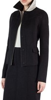 Akris Women's Double Face Wool Reversible Bicolor Jacket
