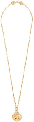 Chanel Pre Owned 1995 CC logo chain pendant necklace
