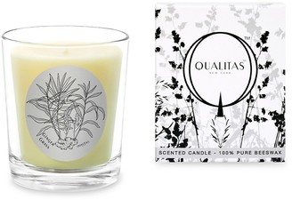 Qualitas Candles Ginger Grass Scented Beeswax Candle