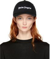 Palm Angels Black Logo Cap