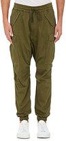 Nlst Men's Cotton Cargo Pants-Dark Green Size L