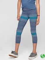 Athleta Girl Stripe Chit Chat Capri