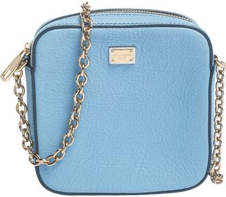 Dolce & Gabbana Blue Leather Square Miss Glam Crossbody Bag