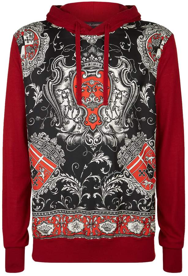 Dolce & Gabbana Coat of Arms Hoodie
