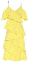 Anna October Ruffled silk dress