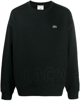 Lacoste Logo-Patch Sweatshirt