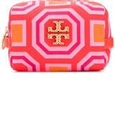 Tory Burch printed small cosmetic case
