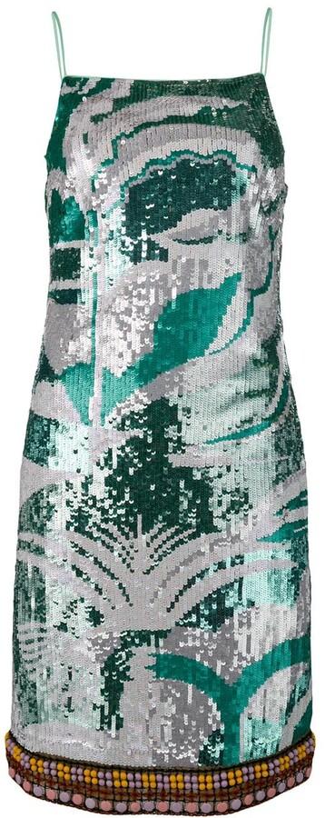 Emilio Pucci Sequinned La Villa Dress